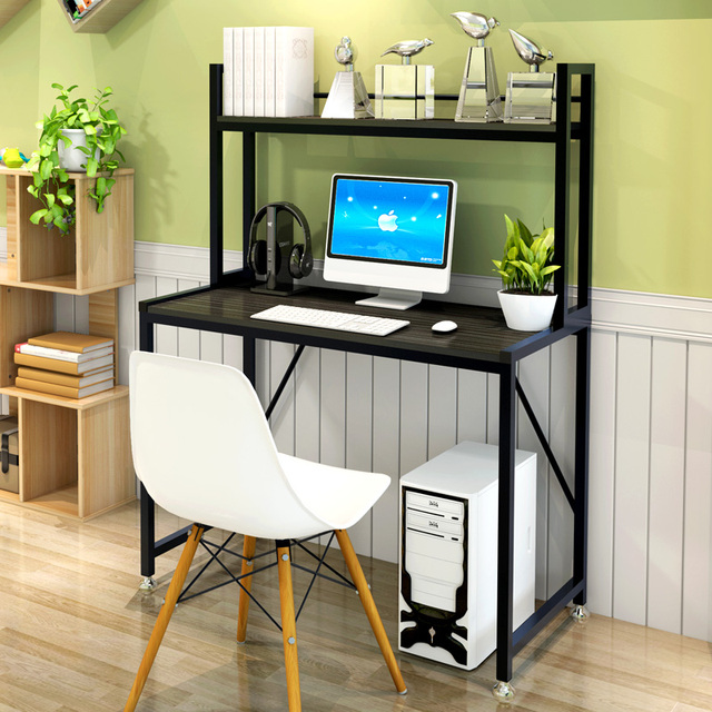 Modern Stylish Computerlaptop Desk With Bookshelf Coffee Table Writing Dresser