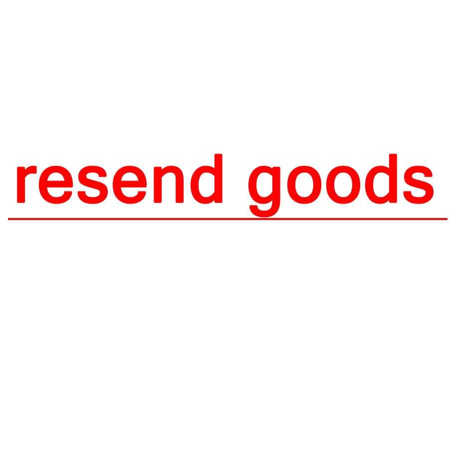 Jak ponownie wysyłać towary