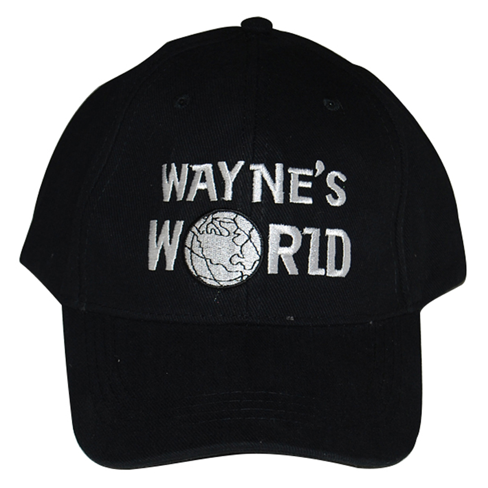Wayne's World Baseball Hat costume Waynes World Cap