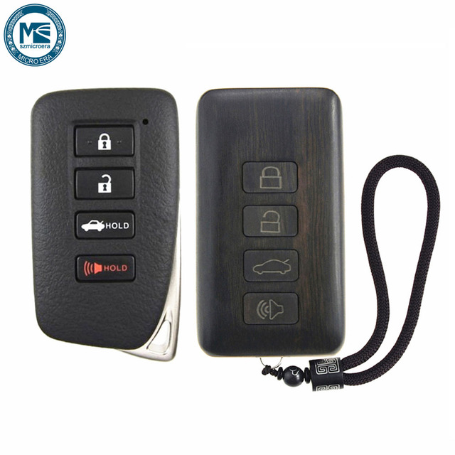 US $47 02 14% OFF|Remote Control Refit Rosewood Car Key Fob Shell  Replacement for Lexus ES GS IS LX NX RC (Circuit Board & Battery  Excluded)-in Remote