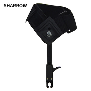 Image 1 - 1pc Black Caliper Release Hunting Shooting Bow Arrow Accessories Wrist Release Strap Used For Compound Bow