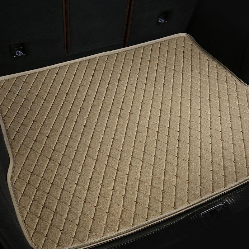 Coffre arrière de voiture tapis de voiture tapis de coffre cargo doublure pour bmw x1 e84 f48 x3 e83 f25 x4 e85 e86 e89 x5 e53 e70 f15 2011-2018 - 2