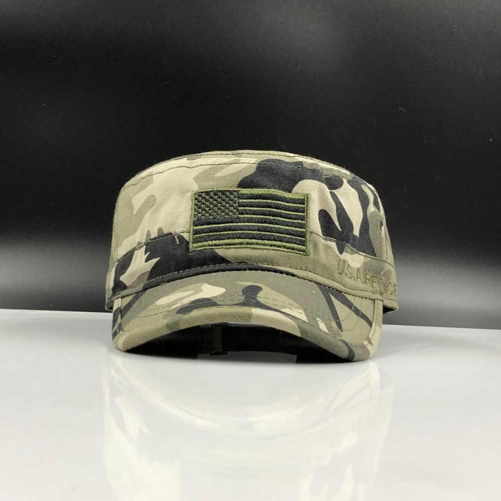 Năm 2019 Mới có Mũ Mũ AIRFORCE Quân Đội Mũ Lưỡi Trai Nam Ngôi Sao Năm cánh Camouflag Nắp Mỹ U. S Không Quân Quân Đội Nón Mũ Lưỡi Trai
