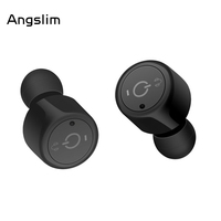 Mini Invisible Twins Wireless Earpiece Bluetooth Earphone Cordless Headphone Blutooth Stereo Earbuds Headset For Phone IPhone