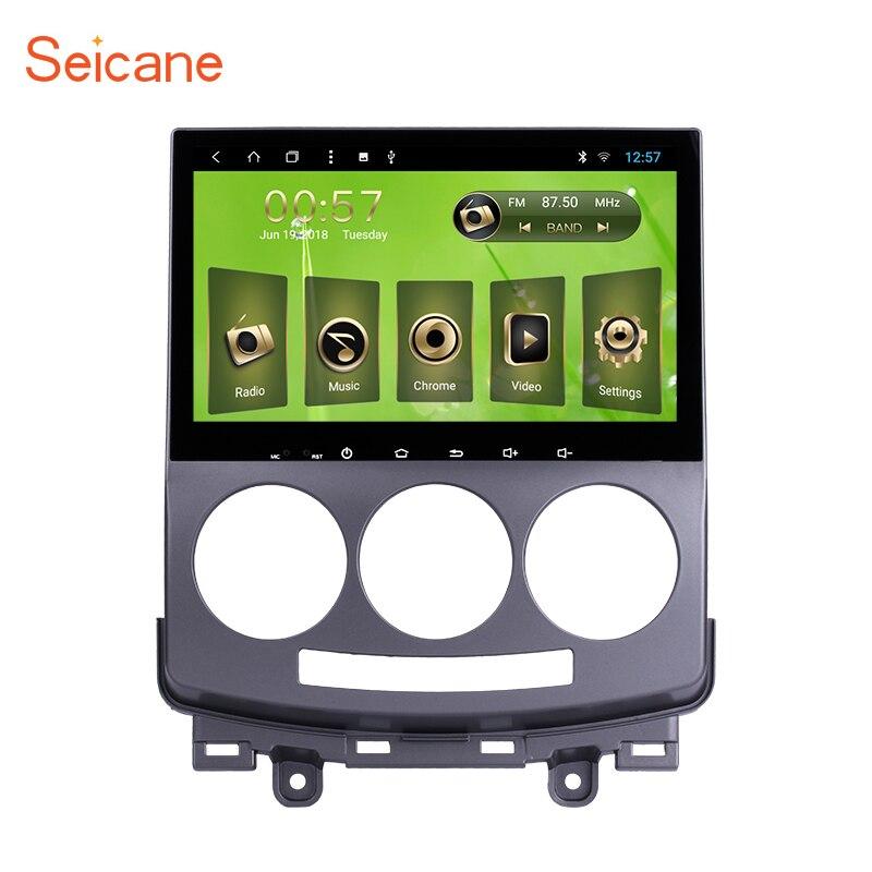 все цены на Seicane Android 8.1 8-Core 9 inch Car Multimedia Player GPS Navi Radio for Mazda 5 2005 2006 2007 2008 2009 2010 With SWC WIFI онлайн