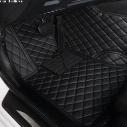 Автомобиль считаем Авто Пол коврик для ног bmw f10 x5 e70 e53 x4 f11 x3 e83 x1 f48 e90 x6 e71 f34 e70 e30 водонепроницаемый аксессуары