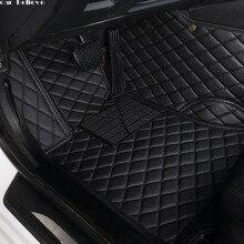 Автомобильный напольный коврик Believe для bmw f10 x5 e70 e53 x4 f11 x3 e83 x1 f48 e90 x6 e71 f34 e70 e30, водонепроницаемые аксессуары