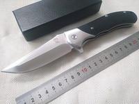Top VOLTRON V05 folding knife tactical camping survival knife ball bearing flipper 9cr18mov blade G10 xử lý outdoor cầm tay công c