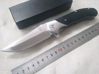 VOLTRON V05 Folding Knife Tactical Camping Survival Pocket Knives Ball Bearing Flipper 9cr18mov Blade G10 Handle