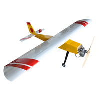 Flight Model Trainer 90 5 50cc Fixed Wing Airplane Model Balsa Wood Drone Aircraft