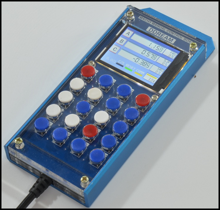 The high-end mach3 manual manual function is complete with serial interface screen CNC complete aluminum anodized sand shellThe high-end mach3 manual manual function is complete with serial interface screen CNC complete aluminum anodized sand shell