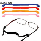 2017 Kids Sports Magnetic Silicone Eyeglasses Strap Children Glasses Safety Band Strap Retainer Sunglasses Band Cord Holder