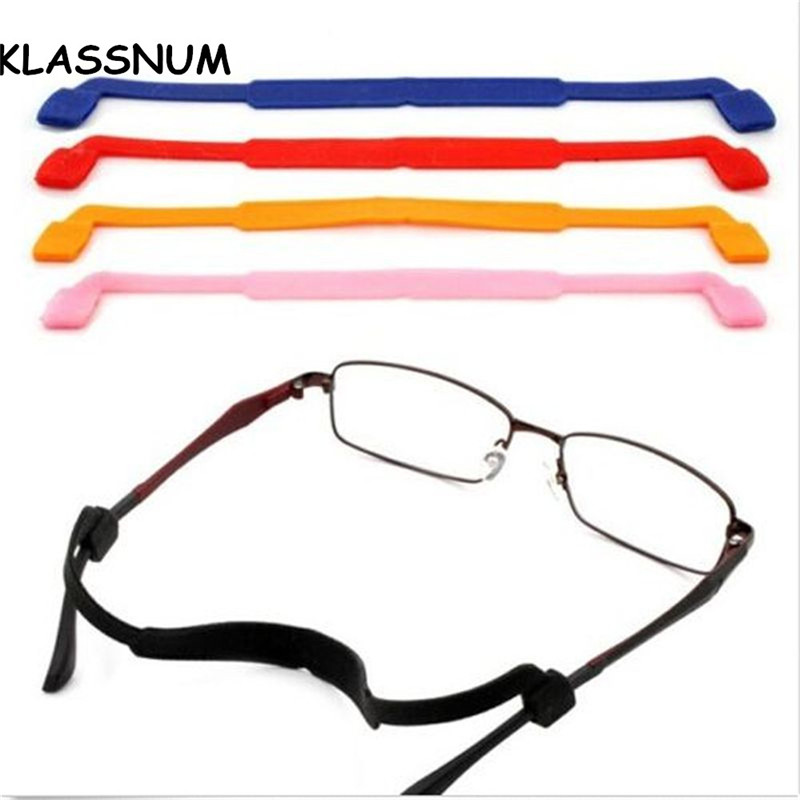 Kids Sports Magnetic Silicone Eyeglasses Strap Children Glasses Safety Band Strap Retainer Sunglasses Band Cord Holder