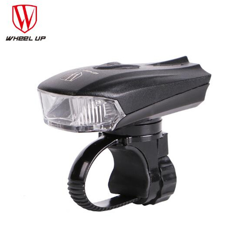 WHEEL UP  Bicycle Head Light Bike Intelligent Front Lamp USB Rechargeable Handlebar LED Lantern Flashlight Night Safe wheel up bicycle head light bike intelligent led front lamp usb rechargeable cycling warning safety flashlight light sensor