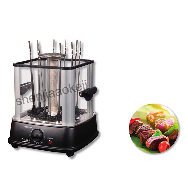Four électrique intérieur sans fumée barbecue cuisinière automatique rotatif barbecue barbecue machine agneau kebab machine 220 v - 4