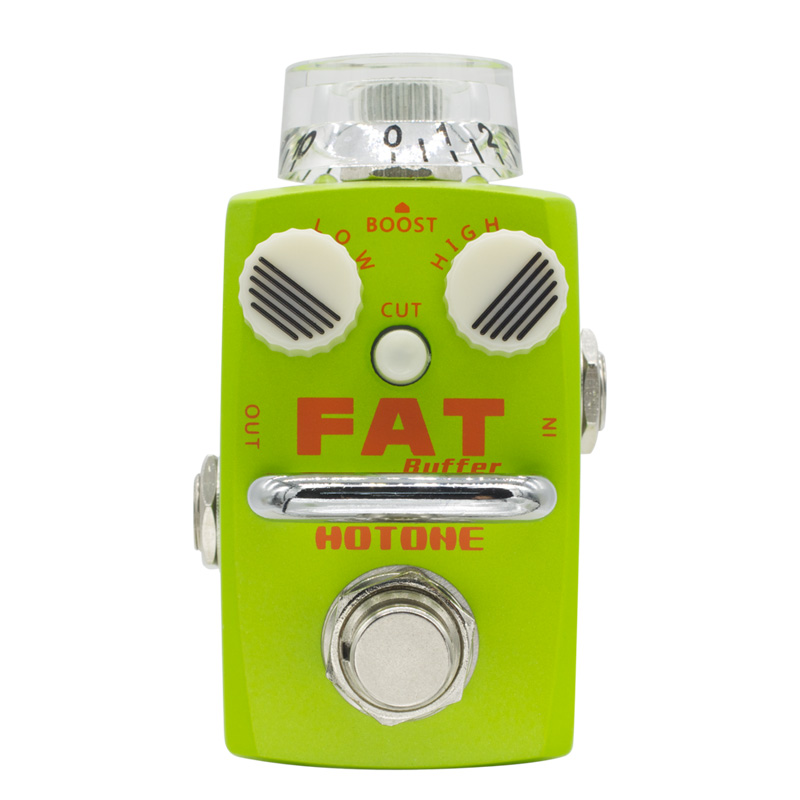 Hotone Fat Buffer Electric Guitar Effect Pedal Buffer Preamp True Bypass Footswitch Guitar Pedal Clean Boost SBF-1 diy booster boost clean guitar effect pedal boost true bypass booster kits fp