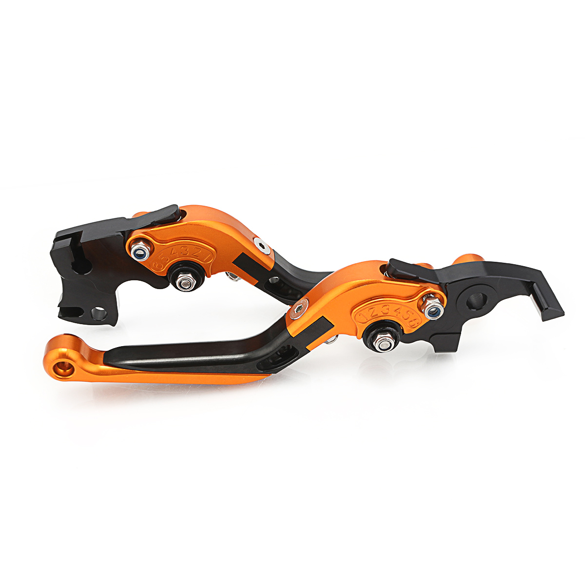 For KTM DUKE 125 200 All Year Adjustable CNC Motorcycle Folding Extendable Brake Clutch Levers in Levers Ropes Cables from Automobiles Motorcycles