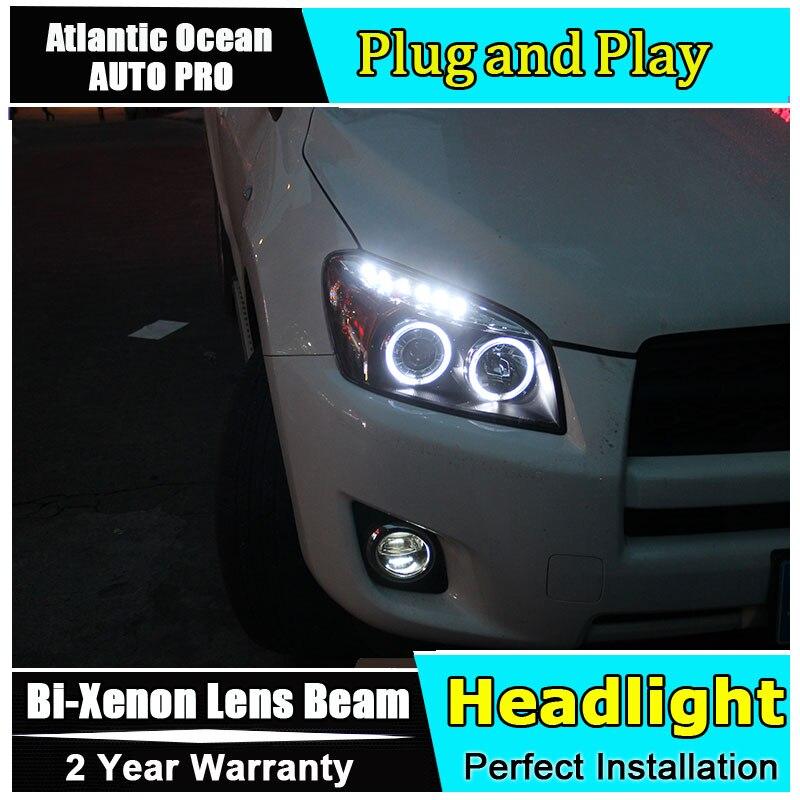 Car Styling LED Head Lamp for Toyota rav4 headlights 2009 2013 for rav4 led headlight led