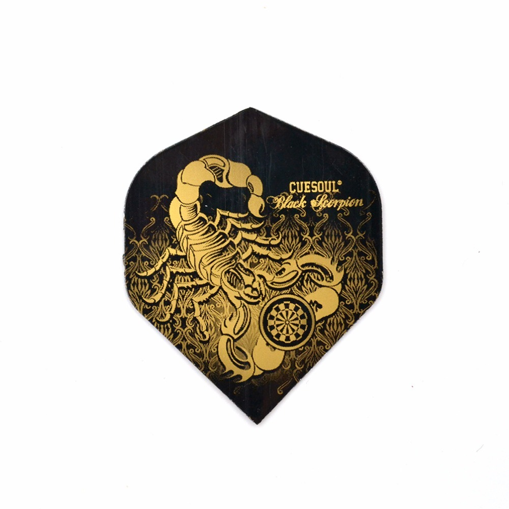 CUESOUL 12pcs 2D Cool Standard Dart Flights Nice Darts Flight Outdoor Wing Tail With Nice Pattern CSDF-M3109