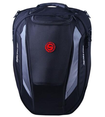 Hot Sale Time-limited Bag Motorcycle Package / Motorcycle Rear Bag Retro Seat Tail Pack Riding Can Put Helmet SKB-303