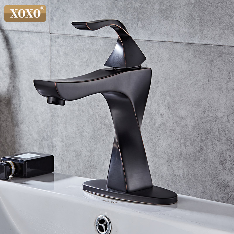 XOXO Basin Faucets Brass Taps Contemporary Single Handle Mixer Tap Bathroom Faucets Hot And Cold Cock Wash Basin faucet 20065H