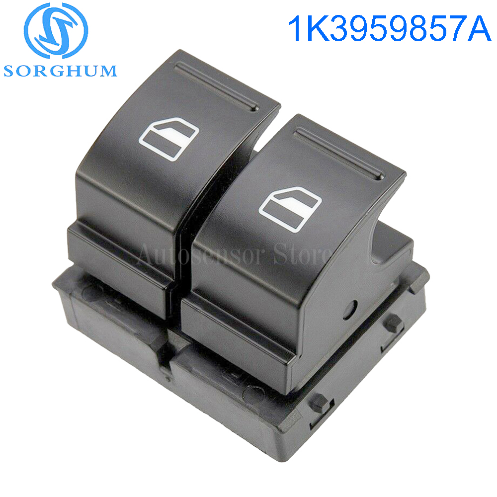 Electric Window Control Switch 4 Pin for VW Caddy 2003-2009