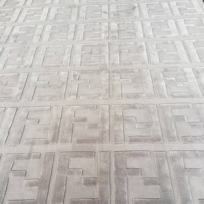 Modern Wool And Silk Top Quality Carpet For Living Room