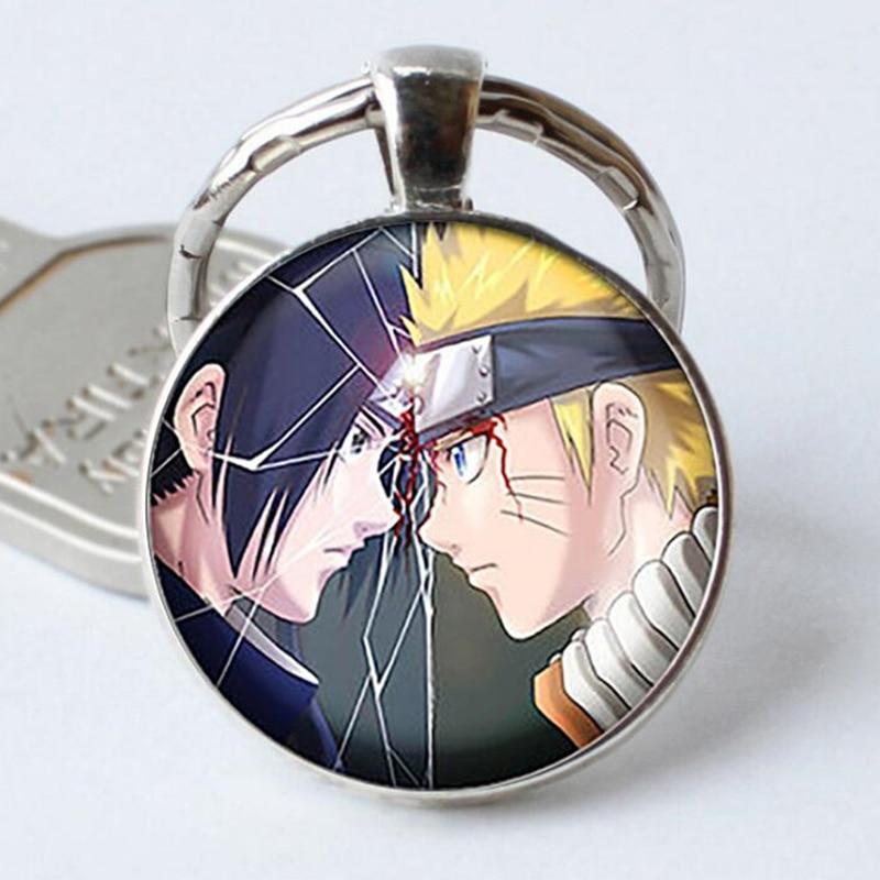 Naruto Keychain with Sasuke