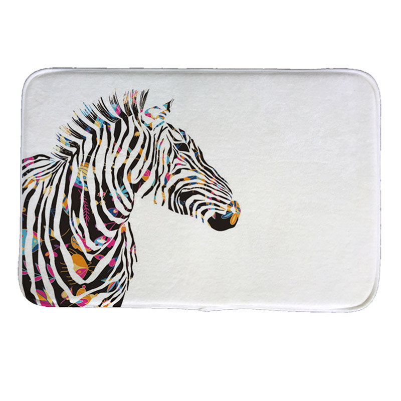 online kaufen gro handel zebra fu matten aus china zebra fu matten gro h ndler. Black Bedroom Furniture Sets. Home Design Ideas