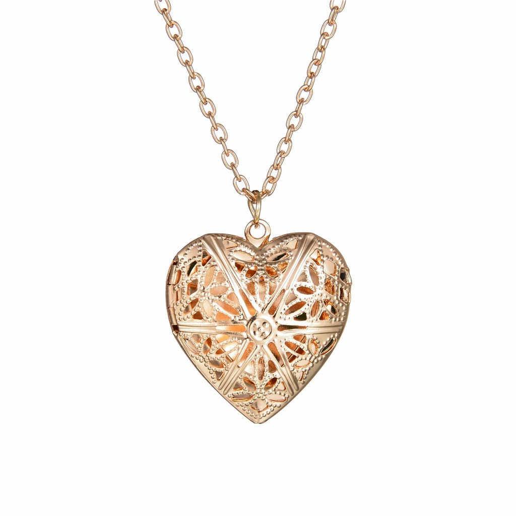 Стильное женское ожерелье Kolye сердце фоторамка ожерелье подвеска дамские ювелирные изделия Готический чокер Collares De Moda 2019 L0515