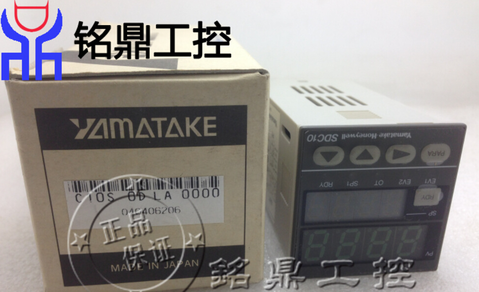 Original Japan Yamatake thermostat SDC10 C10S0DLA0100  used yamatake thermostat imported disassemble the sdc15 c15tr0ta0200