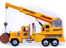 rc 2016 Child remote control truck crane mechanical engineering car educational toys coches a escala excavadora juguete