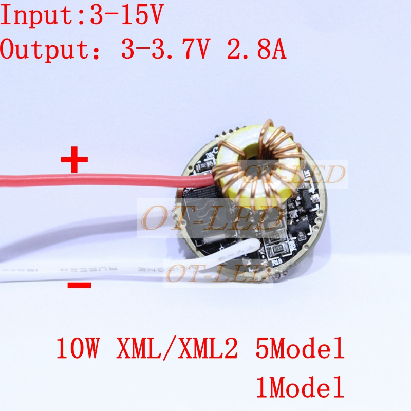 5pcs/lot 5 Mode/1Mode Constant Current 2800mA DC 12V XML T6 Led Driver For Cree XML XM-L2 LightingTransformers 5 Mode t smd common mode inductance filter choke ac90707012pltl current 5a 9x7m