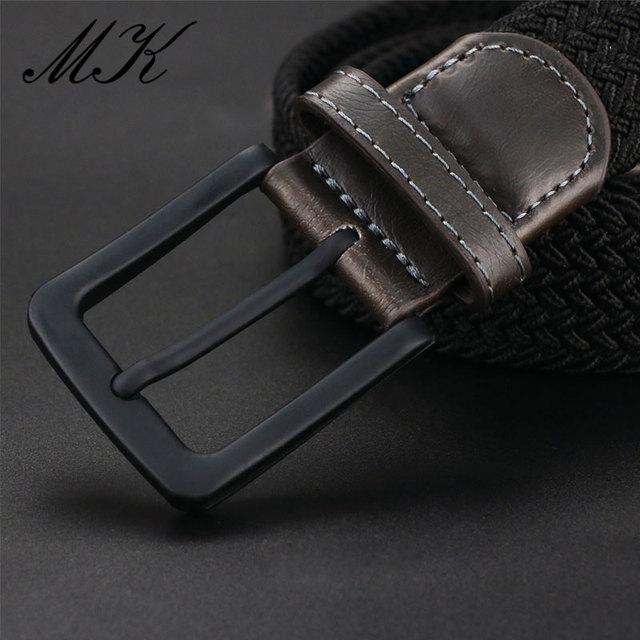 Ремень мужской холщовый для брюк 4