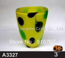 A3327-Free Shipping Best Price Unique Design Glass Cup