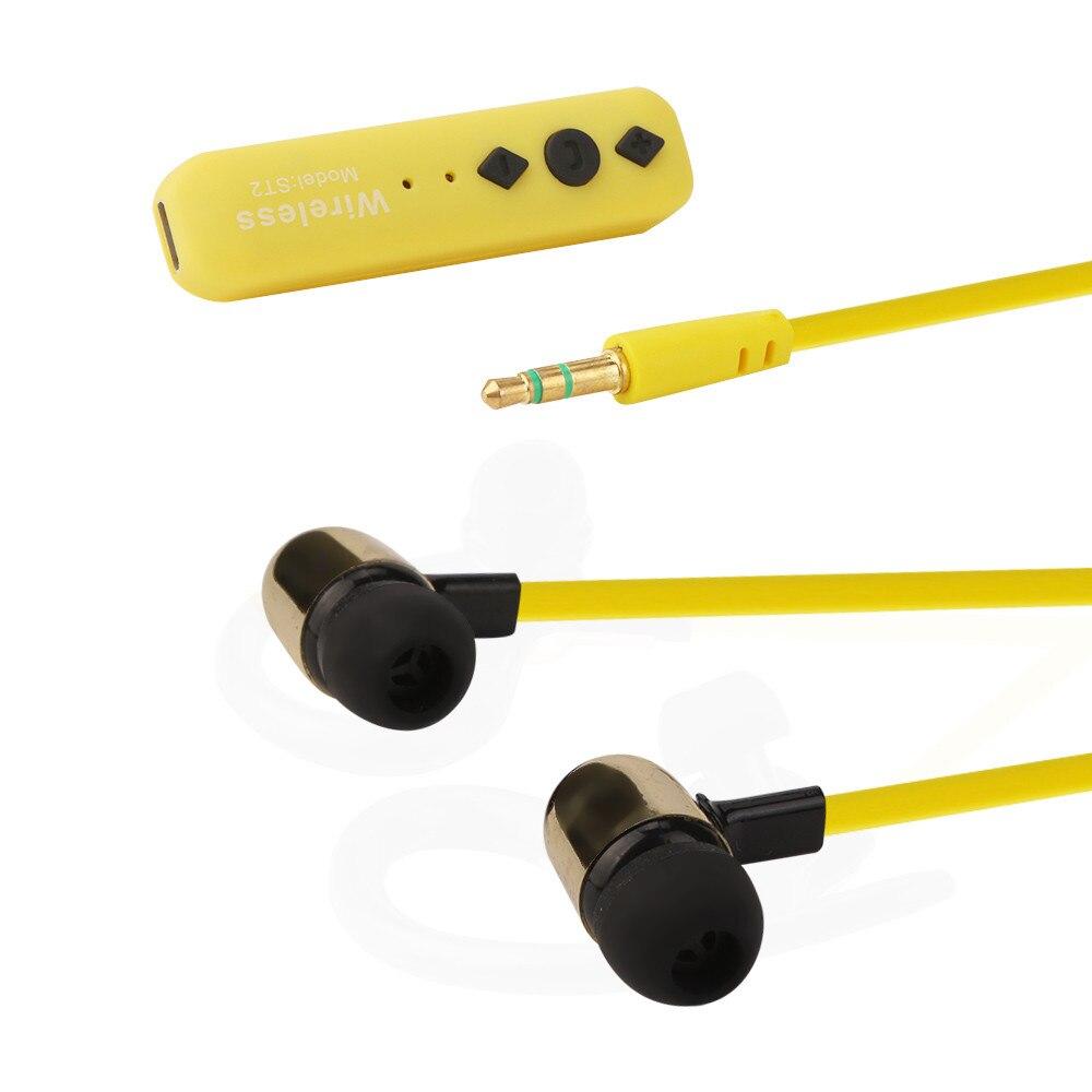 Auricular Bluetooth inalámbrico Auriculares Estéreo Del Auricular Del Deporte Pa
