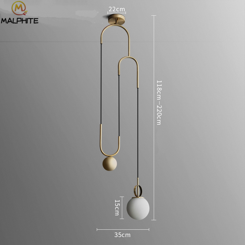 Household lighting fixtures Lamp Set Nordic Minimalist Household Lighting Fixtures Golden Shaped Pendant Lights Modern Restaurant Decor Glass Ball Hanging Lampsin Pendant Lights From Lights Dhgatecom Nordic Minimalist Household Lighting Fixtures Golden Shaped