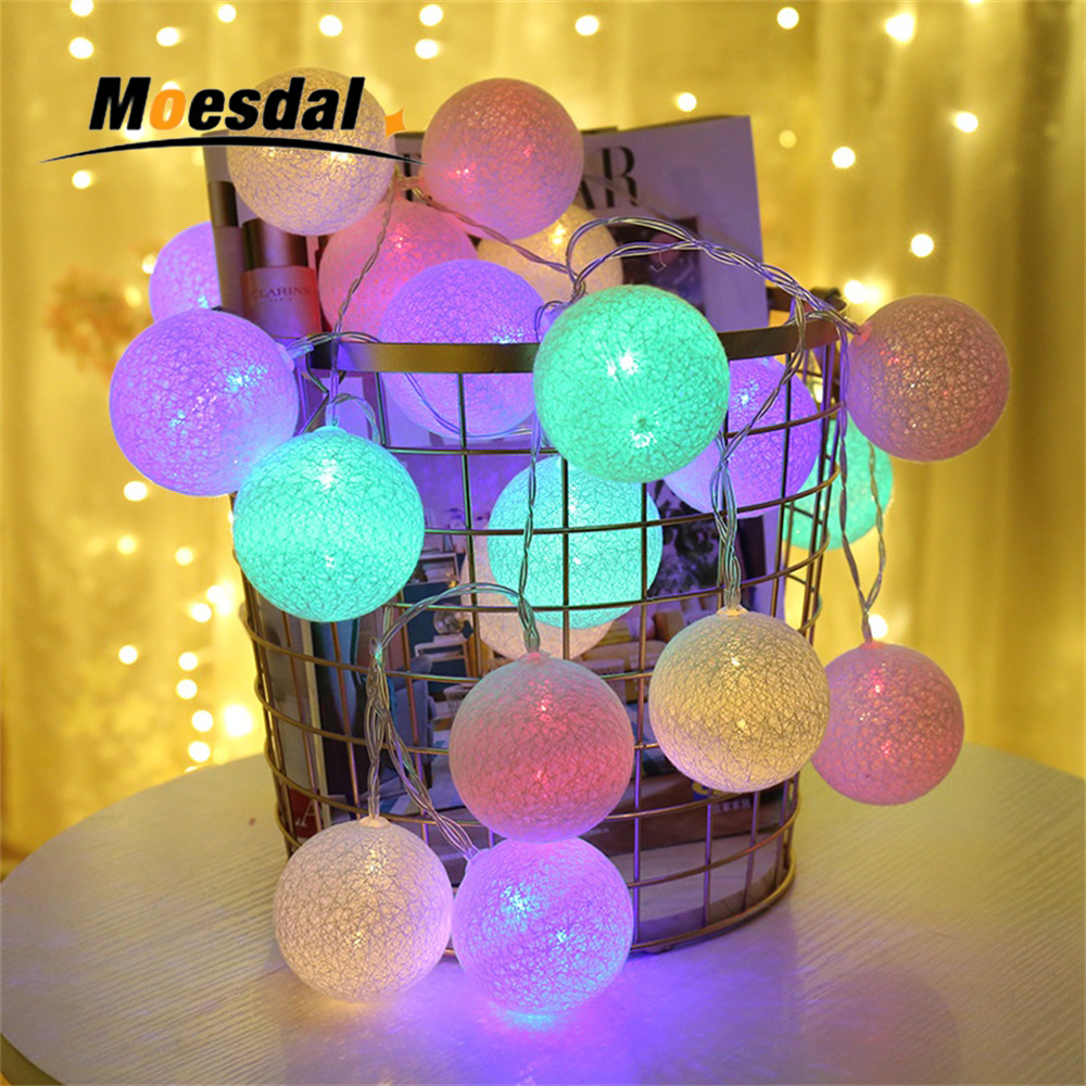 Holiday Lighting 2m 20 Leds Fairy Battery Powered Star String Lights Waterproof Christmas Garland Light For Wedding Party Holiday Home Decoration Harmonious Colors