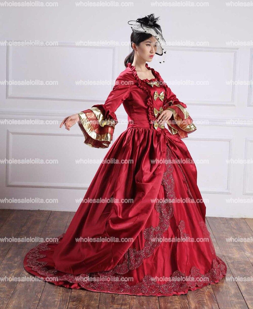 610dd345b Vestido de baile de princesa de flor de bordado completo azul claro vestido  medieval vestido renacentista