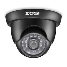 ZOSI 720P TVI Outdoor Indoor Video Surveillance Dome Camera HD 1280 TVL Weatherproof Home CCTV Security Camera System