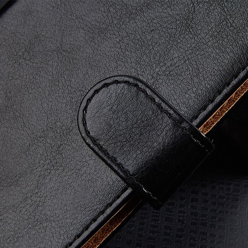 Lyxig PU-läderplånbok för General Mobile 5 Plus GM 5 Plus - Reservdelar och tillbehör för mobiltelefoner - Foto 5