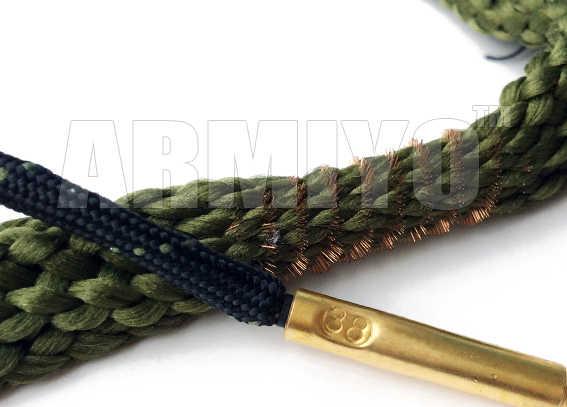 Armiyo Boring Snake. 380 9mm. 38. 357 Cal Pistool Cleaning Kit Gun Barrel Cleaner 24002 Jacht Schieten Accessoires Zakken Pakket