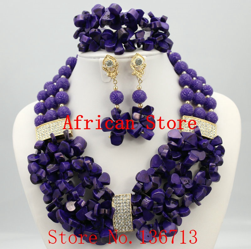 Splendid African Beaded Coral Jewelry Set African baby pink ...