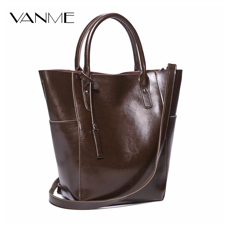 2017 Split Leather Bucket Women Handbag Fashion Luxury Shoulder Bag Solid Zipper Women Tote Bag Large Capacity High Quality Bags  free delivery split leather women bag 2017 new china style fashion handbag plush luxury exquisite tote bag