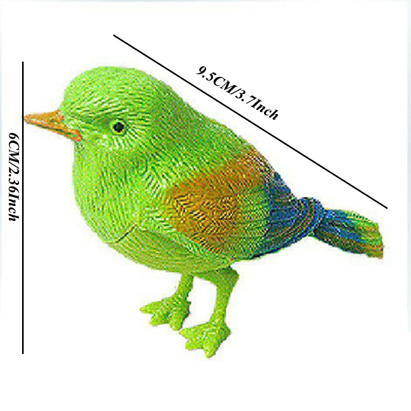 Childrens toy Elestronic Vocal Birds Pets brief Sing Solo intelligent Toys Music Bird for Kids Birthday Childrens day gift
