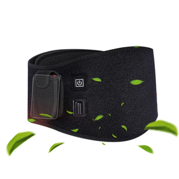 USB Electric Heating Waist Brace Lumbar Abdomen Warmer Pain Therapy Belt Health Care Release Pain from Illness