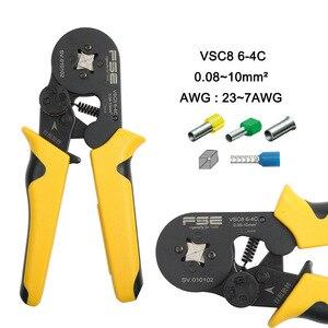 Image 3 - Обжимные клещи VSC8 6 4A VSC9 10 6A VSC10 16 4A 0,08 10 мм2 AWG 23 7, Обжимные Щипцы, обжимные клещи для трубки, обжимные клеммы, ручной инструмент