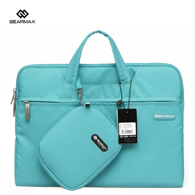 2017 Gearmax Laptop Bag Notebook Women Bags Fashion For Macbook Pro 13 Handbag Briefcase For Surface pro 4 With Pocket Mochila gearmax high quality laptop backpacks 14 15 4 15 6 free gift keyboard cover for macbook fashion notebook bag traveling backpack