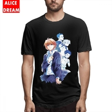 Killua Zoldyck Baka T shirt For Male Hunter X Tee Shirt Rock Roll Homme Round Collar S-6XL Plus Size