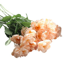 Rosemary poppy artificial flower wedding decoration fake bouquet home coffee shop bookstore decorative